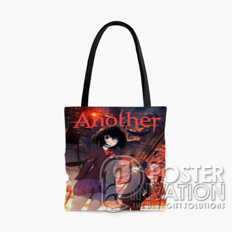 Another Anime Custom Tote Bag AOP Polyester S M L Comfort Fashionable Totebags Unisex Stylish Bag Perfect Gift