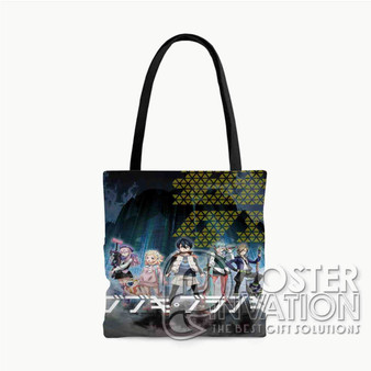 BBK BRNK Custom Tote Bag AOP Polyester S M L Comfort Fashionable Totebags Unisex Stylish Bag Perfect Gift