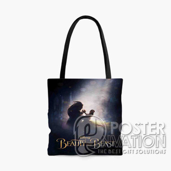Beauty and The Beast 2017 Custom Tote Bag AOP Polyester S M L Comfort Fashionable Totebags Unisex Stylish Bag Perfect Gift