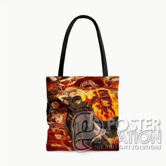 Berserk Anime Custom Tote Bag AOP Polyester S M L Comfort Fashionable Totebags Unisex Stylish Bag Perfect Gift