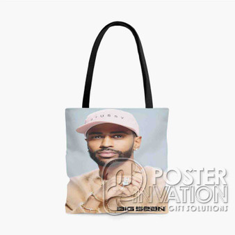 Big Sean Custom Tote Bag AOP Polyester S M L Comfort Fashionable Totebags Unisex Stylish Bag Perfect Gift