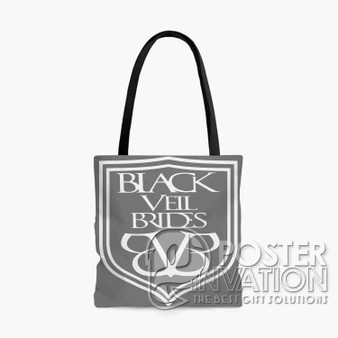 Black Veil Brides Flag Custom Tote Bag AOP Polyester S M L Comfort Fashionable Totebags Unisex Stylish Bag Perfect Gift