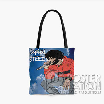 Capital STEEZ Custom Tote Bag AOP Polyester S M L Comfort Fashionable Totebags Unisex Stylish Bag Perfect Gift