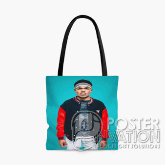 Chance The Rapper Custom Tote Bag AOP Polyester S M L Comfort Fashionable Totebags Unisex Stylish Bag Perfect Gift