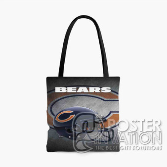 Chicago Bears NFL Custom Tote Bag AOP Polyester S M L Comfort Fashionable Totebags Unisex Stylish Bag Perfect Gift