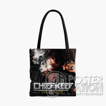 Chief Kneef Finally Rich Custom Tote Bag AOP Polyester S M L Comfort Fashionable Totebags Unisex Stylish Bag Perfect Gift