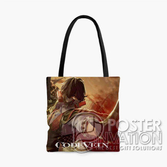 Code Vein Custom Tote Bag AOP Polyester S M L Comfort Fashionable Totebags Unisex Stylish Bag Perfect Gift