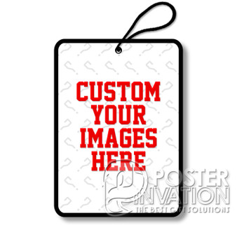 Custom Personalized Images Photos Designs Air Fresheners Car and Home Rooms Fragrances Perfect for Christmas Birthday Graduation Halloween Gift