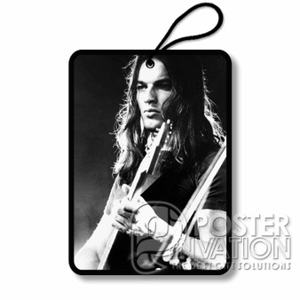 Young David Gilmour Custom Air Fresheners Car and Home Fragrances Room Refreshement