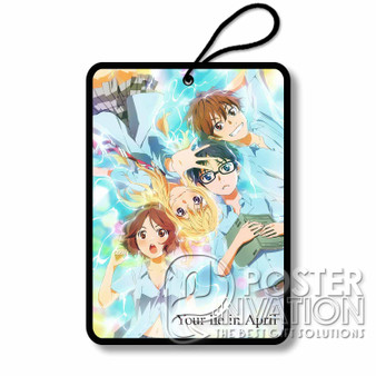 Your Lie in APril Custom Air Fresheners Car and Home Fragrances Room Refreshement