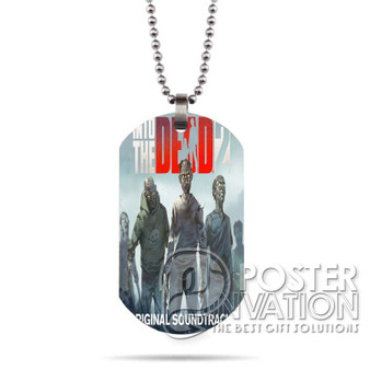 Into the Dead 2 Custom Stainless Steel Military Dog Tag Necklace Pendant