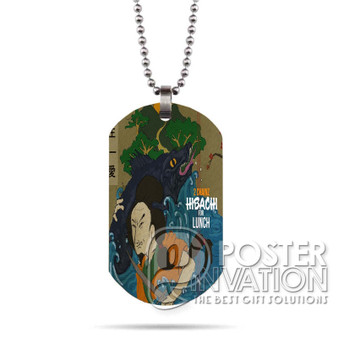 Tity Boi 2 Chainz Hibachi for Lunch Custom Stainless Steel Military Dog Tag Necklace Pendant