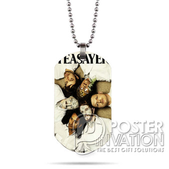 Yeasayer Custom Stainless Steel Military Dog Tag Necklace Pendant
