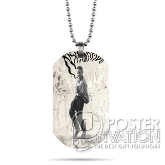 Yes Lawd Nx Worries Custom Stainless Steel Military Dog Tag Necklace Pendant