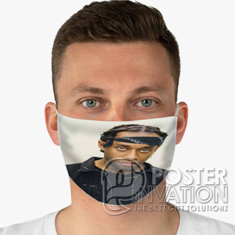 Ty Dolla ign Custom Fabric Face Mask Fashionable Two Layer Polyester