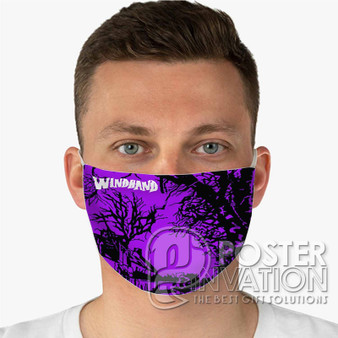 Windhand Custom Fabric Face Mask Fashionable Two Layer Polyester