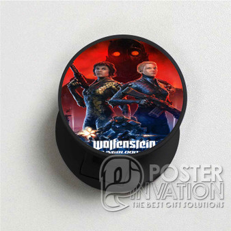 Wolfenstein Youngblood Custom Folding Phone Holder Pop Up Stand Out Grip