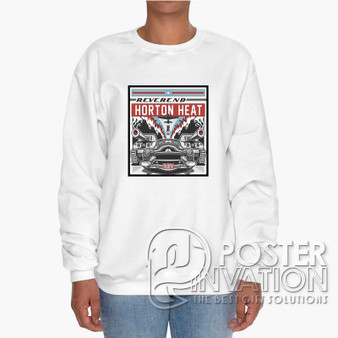 Reverend Horton HeatCustom Unisex Heavy Blend Crewneck Sweatshirt S M L XL XXL XXXL Summer Winter Spring Perfect Gift
