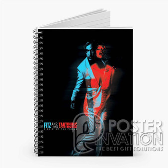 Fitz The Tantrums Custom Spiral Notebook Ruled Line Front Cover Book Case Perfect Gift