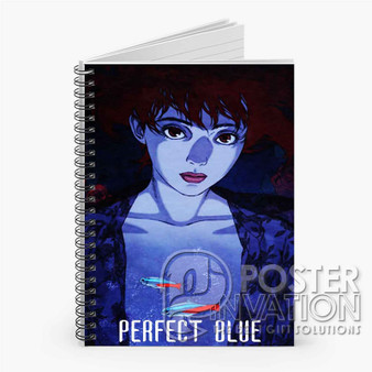 Perfect Blue Anime Custom Spiral Notebook Ruled Line Front Cover Book Case Perfect Gift