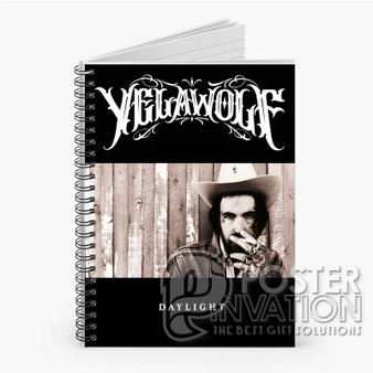 Yelawolf Daylight Custom Spiral Notebook Ruled Line Front Cover Book Case Perfect Gift
