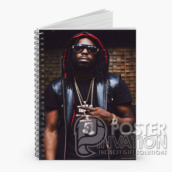 Young Thug Custom Spiral Notebook Ruled Line Front Cover Book Case Perfect Gift