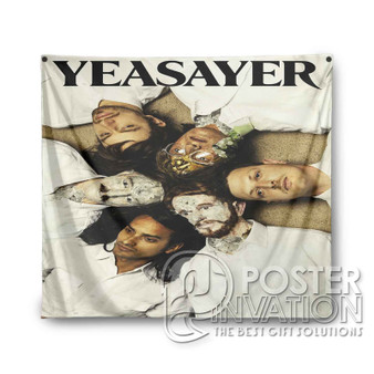 Yeasayer Custom Tapestry Wall Decor Art Hanging Tapestries Home Decoration Scandinavian Style Monochrome