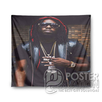 Young Thug Custom Tapestry Wall Decor Art Hanging Tapestries Home Decoration Scandinavian Style Monochrome