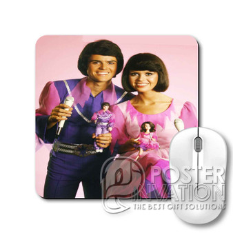 Donny and Marie Osmond Custom Gaming Mouse Pad Desk PC Laptop Game Keyboard Pad Perfect Gift