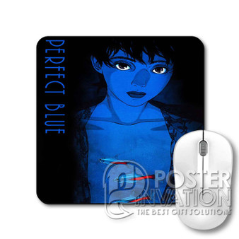 Perfect Blue Custom Gaming Mouse Pad Desk PC Laptop Game Keyboard Pad Perfect Gift