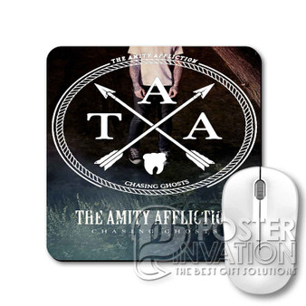 The Amity Affliction Chasing Ghost Custom Gaming Mouse Pad Desk PC Laptop Game Keyboard Pad Perfect Gift