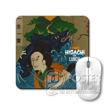 Tity Boi 2 Chainz Hibachi for Lunch Custom Gaming Mouse Pad Desk PC Laptop Game Keyboard Pad Perfect Gift