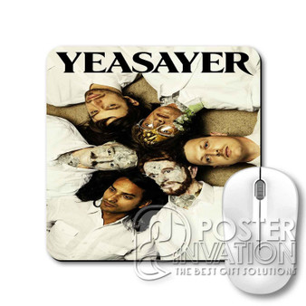 Yeasayer Custom Gaming Mouse Pad Desk PC Laptop Game Keyboard Pad Perfect Gift