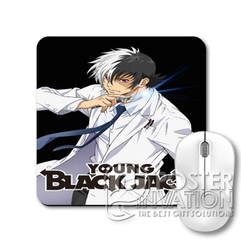 Young Black Jack Custom Gaming Mouse Pad Desk PC Laptop Game Keyboard Pad Perfect Gift