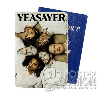 Yeasayer Custom Passport PU Leather Holder Case Wallet Cover Card Slot Travel Perfect Gift
