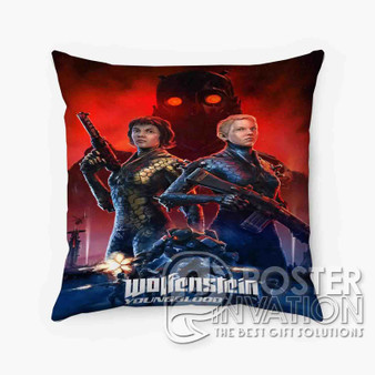 Wolfenstein Youngblood Custom Pillow Trow Chusion Case Cover Bed and Shofa Home Decor Perfect Gift
