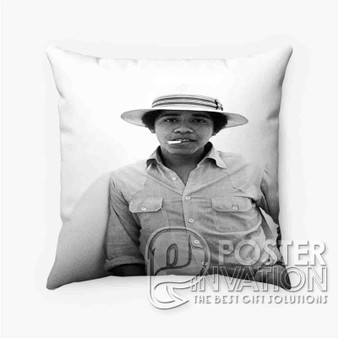 Young Obama SMoke Custom Pillow Trow Chusion Case Cover Bed and Shofa Home Decor Perfect Gift