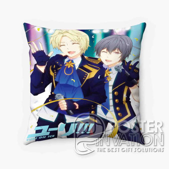 Yuri on Ice Feel The Love Custom Pillow Trow Chusion Case Cover Bed and Shofa Home Decor Perfect Gift