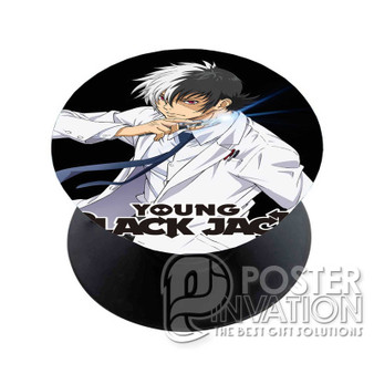 Young Black Jack Custom Phone Holder Pop Up Stand Out Mount Grip Standing Pods Perfect Gift