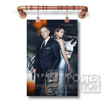 007 movie poster Custom Art Silk Poster Wall Decor 20 x 13 Inch 24 x 36 Inch Home Living Decoration