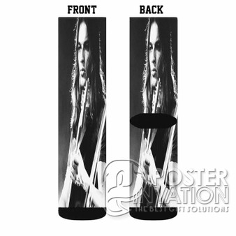 Young David Gilmour Custom Socks Sublimation Sports Game Sporting Goods Perfect Gift