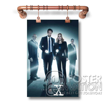 The X Files Custom Art Silk Poster Wall Decor 20 x 13 Inch 24 x 36 Inch