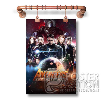The Avengers Infinity War Custom Art Silk Poster Wall Decor 20 x 13 Inch 24 x 36 Inch