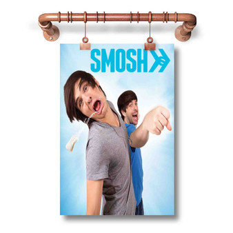 Smosh Custom Art Silk Poster Wall Decor 20 x 13 Inch 24 x 36 Inch