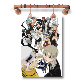 Soul Eater Custom Art Silk Poster Wall Decor 20 x 13 Inch 24 x 36 Inch