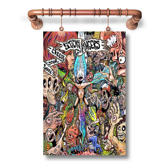 Sticky Fingers Custom Art Silk Poster Wall Decor 20 x 13 Inch 24 x 36 Inch