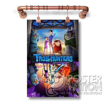 Trollhunters New Custom Art Silk Poster Wall Decor 20 x 13 Inch 24 x 36 Inch