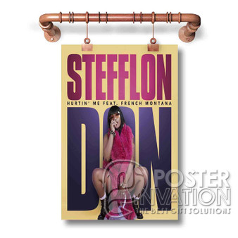 Stefflon Don Custom Art Silk Poster Wall Decor 20 x 13 Inch 24 x 36 Inch