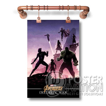 Infinity War Custom Art Silk Poster Wall Decor 20 x 13 Inch 24 x 36 Inch