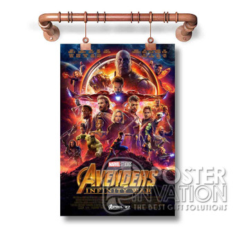 Avengers Infinity War Custom Art Silk Poster Wall Decor 20 x 13 Inch 24 x 36 Inch